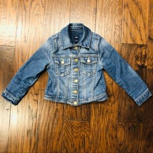 BabyGap Jean jacket EUC! 4T